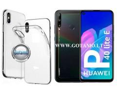 Skin silikoninis dėklas Huawei P40 Lite E Huawei Y7P telefonams