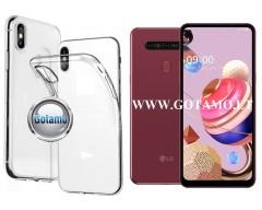 Skin silikoninis dėklas LG K51S telefonams