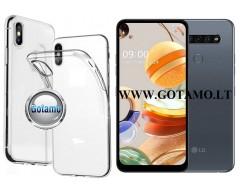 Skin silikoninis dėklas LG K61 telefonams