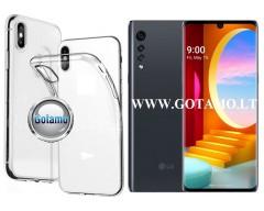 Skin silikoninis dėklas LG Velvet telefonams