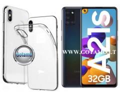 Skin silikoninis dėklas Samsung Galaxy A21s telefonui