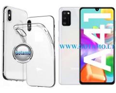 Skin silikoninis dėklas Samsung Galaxy A41 telefonui
