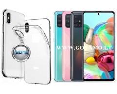 Skin silikoninis dėklas Samsung Galaxy A71 telefonui