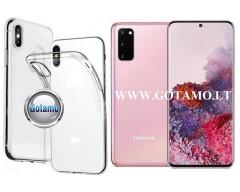 Skin silikoninis dėklas Samsung Galaxy S20 telefonui