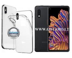 Skin silikoninis dėklas Samsung Galaxy Xcover Pro telefonui