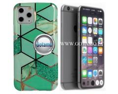 Tiles dėklas nugarėlė Apple iPhone 7 8 SE (2020) telefonams mėtinės spalvos
