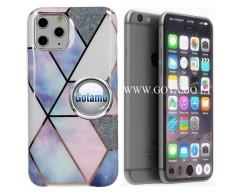 Tiles dėklas nugarėlė Apple iPhone 7 8 SE (2020) telefonams violetinės spalvos