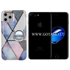 Tiles dėklas nugarėlė Apple iPhone 7 Plus 8 Plus telefonams violetinės spalvos Vilnius   Palanga   Kaunas