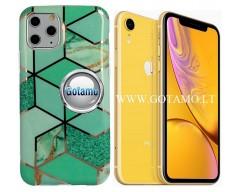 Tiles dėklas nugarėlė Apple iPhone XR telefonams mėtinės spalvos