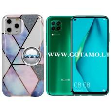 Tiles dėklas nugarėlė Huawei P40 Lite telefonams violetinės spalvos Telšiai | Kaunas | Plungė