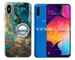 Tiles dėklas nugarėlė Samsung Galaxy A50 telefonams mėlynos spalvos