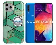 Tiles dėklas nugarėlė Samsung Galaxy A50 telefonams mėtinės spalvos