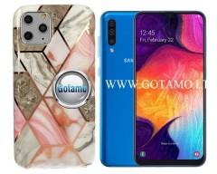 Tiles dėklas nugarėlė Samsung Galaxy A50 telefonams pilkos spalvos