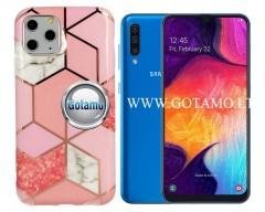 Tiles dėklas nugarėlė Samsung Galaxy A50 telefonams rožinės spalvos