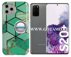 Tiles dėklas nugarėlė Samsung Galaxy S20+ telefonams mėtinės spalvos