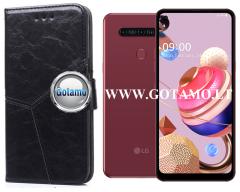 Turtle Dėklas LG K51S mobiliesiems telefonams juodos spalvos