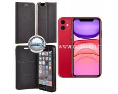 Vennus Diary magnetinis dėklas Huawei P30 telefonams juodos spalvos