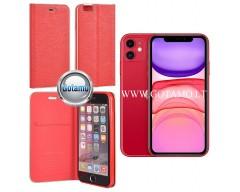 Vennus Diary magnetinis dėklas Huawei P30 telefonams raudonos spalvos