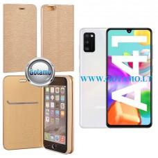 Vennus Diary magnetinis dėklas Samsung Galaxy A41 telefonams aukso spalvos Telšiai | Šiauliai | Šiauliai