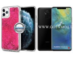 Waterfall dėklas nugarėlė Huawei Mate 20 Pro telefonams rožinės spalvos