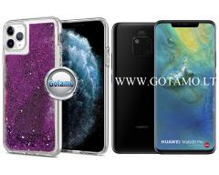Waterfall dėklas nugarėlė Huawei Mate 20 Pro telefonams violetinės spalvos