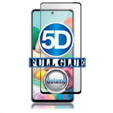 Apsauga ekranui gaubtas grūdintas stiklas Samsung Galaxy A72 mobiliesiems telefonams juodos spalvos 5D pilnas padengimas klijais Šiauliai | Klaipėda | Kaunas