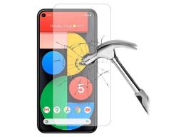 Apsauga ekranui grūdintas stiklas Google Pixel 5 mobiliesiems telefonams