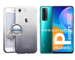 iLLuminaTe silikoninis dėklas nugarėlė Huawei P Smart 2021 telefonams sidabro spalvos