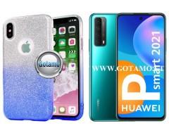 iLLuminaTe silikoninis dėklas nugarėlė Huawei P Smart 2021 telefonams žydros spalvos