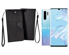 Manager dėklas Huawei P30 Pro telefonams juodos spalvos