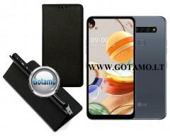 Re-Grid magnetinis dėklas LG K61 telefonams juodos spalvos