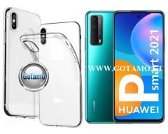 Skin silikoninis dėklas 2MM storio Huawei P Smart 2021 telefonams