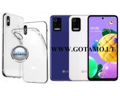 Skin silikoninis dėklas LG K52, LG K62 telefonams