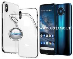 Skin silikoninis dėklas Nokia 8.3 5G telefonams