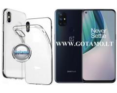 Skin silikoninis dėklas OnePlus Nord N10 5G telefonui
