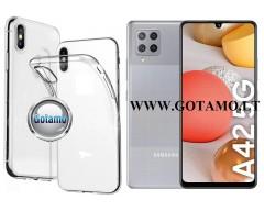 Skin silikoninis dėklas Samsung Galaxy A42 5G telefonams