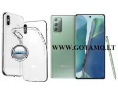 Skin silikoninis dėklas Samsung Galaxy Note 20 telefonams