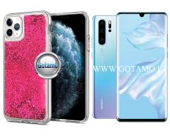 Waterfall2 dėklas nugarėlė Huawei P30 Pro telefonams rožinės spalvos