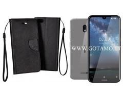 Manager dėklas Nokia 2.2 telefonams juodos spalvos