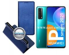 Re-Grid magnetinis dėklas Huawei P Smart 2021 telefonams mėlynos spalvos