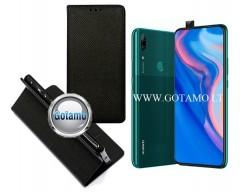 Re-Grid magnetinis dėklas Huawei P Smart Z Huawei Y9 (2019) telefonams juodos spalvos