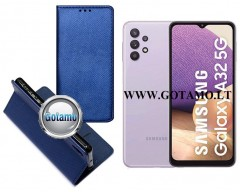 Re-Grid magnetinis dėklas Samsung Galaxy A32 5G telefonams mėlynos spalvos