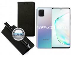 Re-Grid magnetinis dėklas Samsung Galaxy Note 10 Lite telefonams juodos spalvos