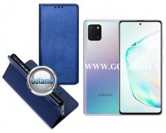Re-Grid magnetinis dėklas Samsung Galaxy Note 10 Lite telefonams mėlynos spalvos