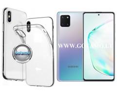 Skin silikoninis dėklas 2MM storio Samsung Galaxy Note 10 Lite telefonams