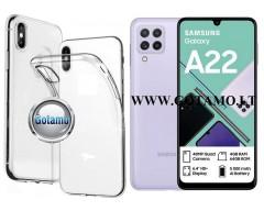 Skin silikoninis dėklas Samsung Galaxy A22 telefonui