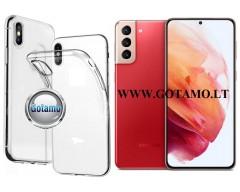 Skin silikoninis dėklas Samsung Galaxy S21+ 5G telefonui
