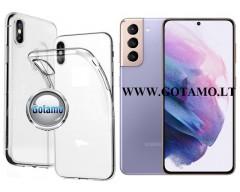 Skin silikoninis dėklas Samsung Galaxy S21 telefonui