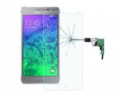 Apsauga ekranui grūdintas stiklas Samsung Galaxy Alpha mobiliesiems telefonams