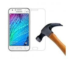 Apsauga ekranui grūdintas stiklas Samsung Galaxy J1 mobiliesiems telefonams